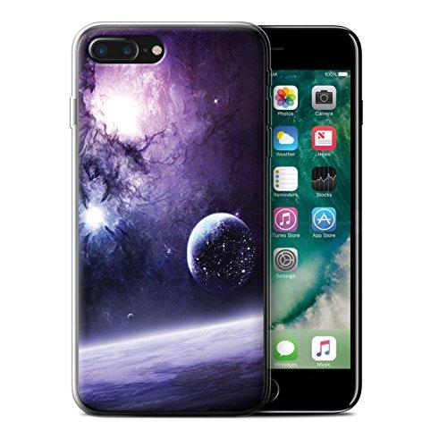 Offiziell Chris Cold Hülle / Gel TPU Case für Apple iPhone 7 Plus / Planet/Mond Muster / Fremden Welt Kosmos Kollektion Planet/Mond