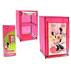 fille minnie disney petit meuble de rangement en toile pour penderie tag re bricolage. Black Bedroom Furniture Sets. Home Design Ideas