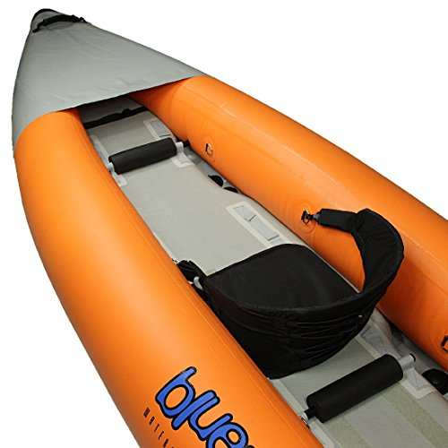 Blue Born Skx Touring Kayak 365X90 Cm Canoe For 2 Persons
