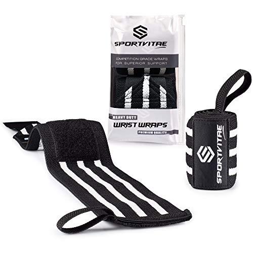 Sportvitae® - Muñequeras Deportivas Crossfit 1 Par