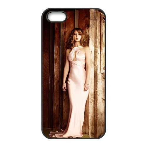 LP-LG Phone Case Of Jennifer Lawrence For iPhone 5,5S [Pattern-6] Pattern-1