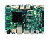 UDOO Sb02-4940-0000-C0 Mainboard mit Intel N3710, Ddr3L 8 GB Dual Channel, EMMC 32 GB, Magenta