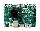 Udoo SB02–4940–0000-c0Tarjeta Madre con procesore Intel n3710, DDR3L de 8GB Dual Channel, eMMC de 32GB, Magenta
