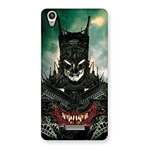 Gorgeous Knight City Multicolor Back Case Cover for Lava-Pixel-V1