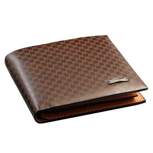 Jasper Finn Qualität Männers-Braun-PU-lederne Mappe mit Kreditkarte-Halter, Geldbeutel (Herren Leder Gucci)
