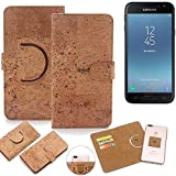 K-S-Trade 360° Cover cork Case for Samsung Galaxy J3