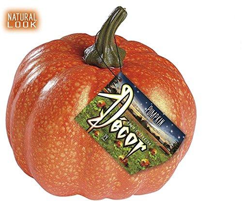 Sancto Klassischer Kürbis Halloween Party-Deko orange 16cm Einheitsgröße