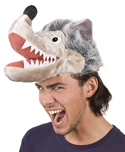 enenhut Wolf, One Size (Wolf Kostüm Hut)