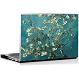 Seven Rays Vincent Van Gogh's Turquoise Almond Laptop Skin
