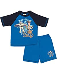 The Lion Guard Toy Story Pyjamas Boys Short PJS Woody Buzz Lightyear Rex Shortie Set Kids Size