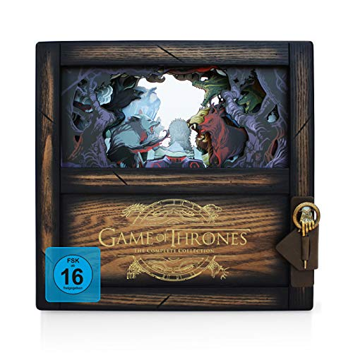 Game of Thrones Limited Collector\'s Edition - Die komplette Serie (Staffeln 1-8) (Exklusiv bei Amazon.de) [Blu-ray] [Limited Collector\'s Edition]