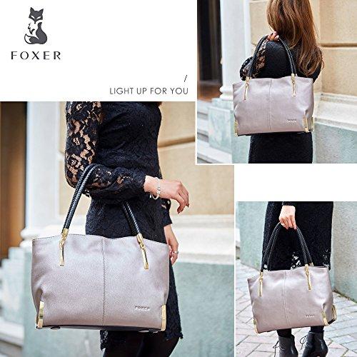 FOXER - Sacchetto donna Light Grey
