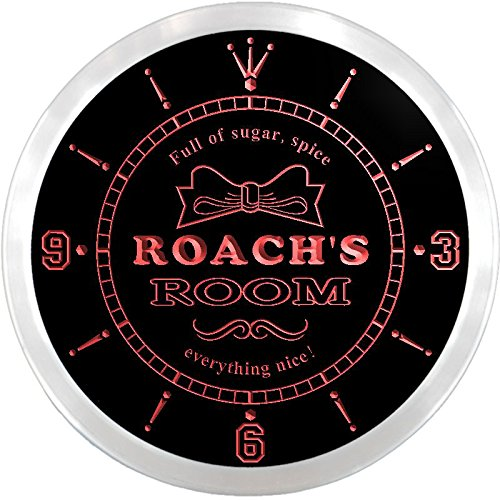 ncpe1762-r-roachs-girl-princess-kids-room-night-light-neon-sign-led-wall-clock