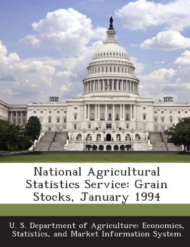 National Agricultural Statistics Service: Grain Stocks, January 1994