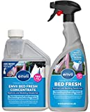 Envii Bed Fresh - Deodorante Spray Per Materassi e Lenzuola, Pulisce e Neutralizza Gli Odori - (Concentrato da 500ml e Bottiglia Spray 750 ml)