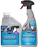 Envii Bed Fresh - Elimina Malos Olores y Manchas del Colchón - 500 de concentrado y pulverizador de 750ml