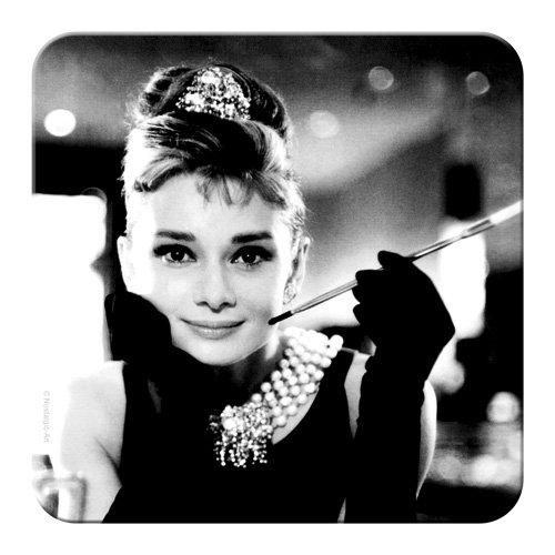 Nostalgic-Art 46136 Breakfast at Tiffany's Audrey Hepburn, Holly Golightly, Untersetzer