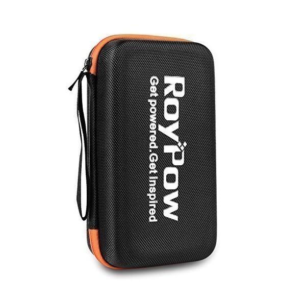 RoyPow Funda multi usos, Resistente, a prueba de golpes, impermeable, funda universal de viaje, bolsa para arrancador…