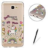 KaseHom Compatible for Samsung Galaxy J5 Prime Transparent Gel de Silicone TPU Coque...
