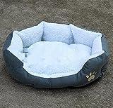 Runfon, Cuscino / divano / letto per cani, gatti, animali da compagnia lavabile, con cuscino rimovibile
