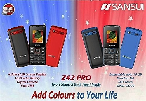 Sansui Z42 Pro - Black/Blue