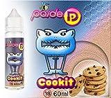 60 ml Paide Premium E-Liquide - Sans nicotine - Liquide pour cigarette électronique - 70VG 30PG (Cookit)