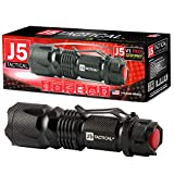 Best Tactical Flashlights - 300 Lumen J5 Tactical V1-Pro Flashlight - The Review