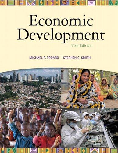 Economic Development (The Pearson Series in Economics)