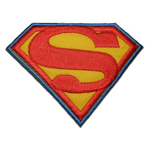 Parches bordados parches superheroe Superman hierro