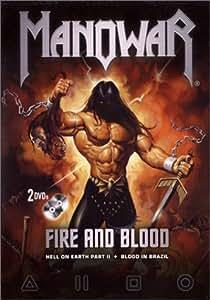 Manowar : Fire and Blood - Édition 2 DVD