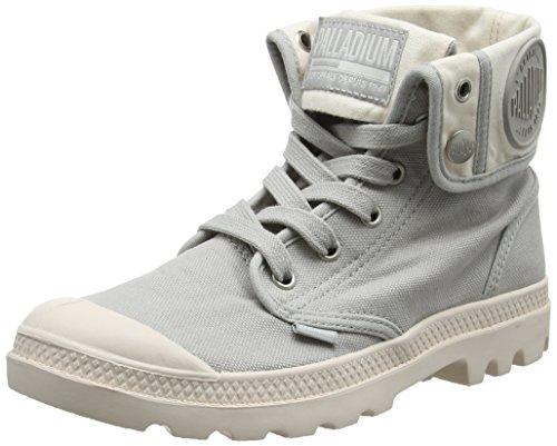 Palladium Baggy, Sneaker a Collo Alto Donna Grigio (Vapor/blanc Whisper Pink L21)