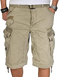 Geographical Norway Herren Cargo Short Sommer Bermuda kurze Hose Shorts
