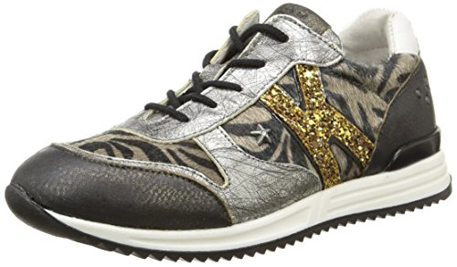 IKKS  Whitney,  Sneaker ragazza Argento Argent (Svt Zèbre/Argent Dpf/2757) 28