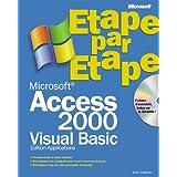 Microsoft Access 2000, VBA, étape par étape (+CD-Rom)