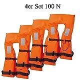 Schwimmweste Rettungsweste Marinepool Vento 100 N -4er Pack