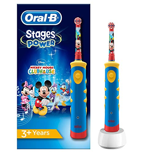 Oral-B Stages Power Kids de Mickey Mouse Cepillo de Dientes Eléctrico Power...