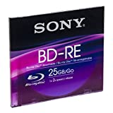 Sony BNE25SL Blu-ray BD-RE Rohlinge (25GB, 1er Slim Case)