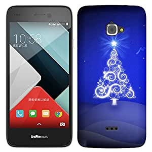 WOW 3D Printed Designer Mobile Case Back Cover For Infocus M350 / M350
