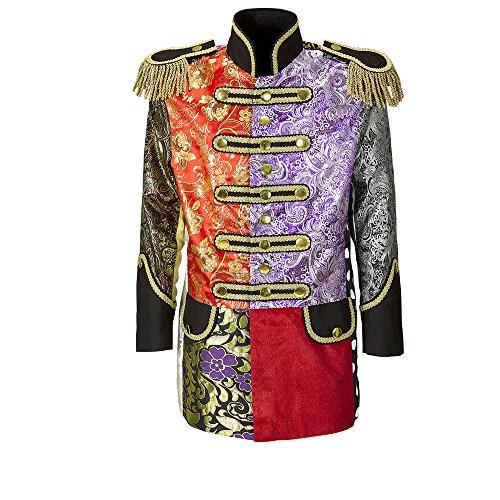 Widmann 59264 Herren Mantel Jaquard Patchwork Parade kostüm, -