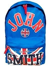 763f084a9e4 John Smith Mochila M16203 Marino Rojo