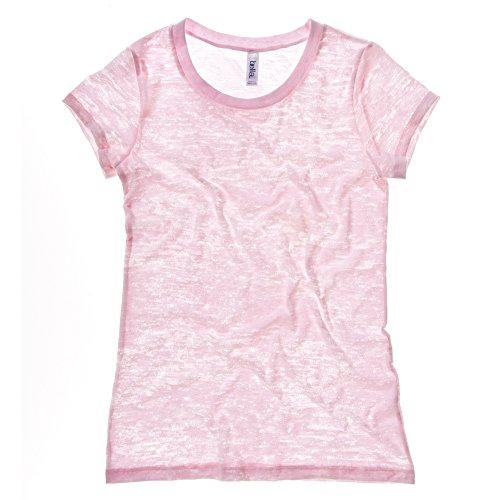 Bella Canvas - T-shirt - Femme Rose - Rose clair