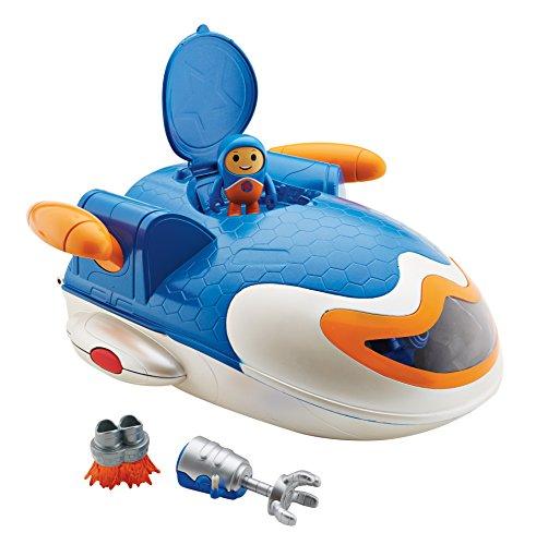 Fisher-Price – GO Jetters – Kyan & Géo Jet Academy – Figurine et Véhicule Géo Jet