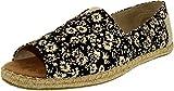 TOMS Womens Alpargata Open Toe Black Textil Floral 37.5