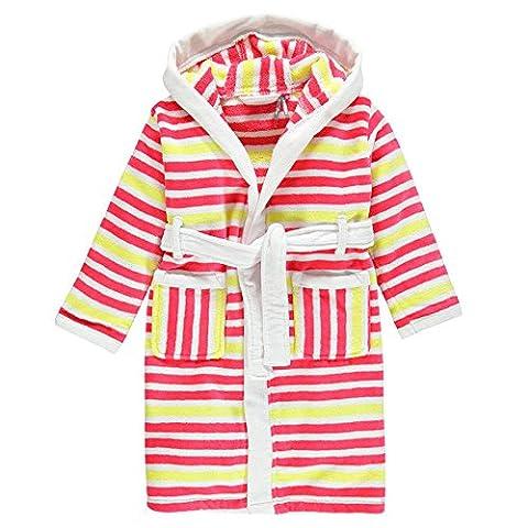 Peignoir enfant en coton éponge à capuche enfant 100% coton (3 ans)