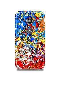 Moto E2 Cover,Moto E2 Case,Moto E2 Back Cover,Colorful Abstract Moto E2 Mobile Cover By The Shopmetro-10128
