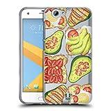 Head Case Designs Toast Und Guacamole Alles Ueber Avocados Soft Gel Hülle für HTC One A9s