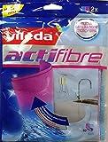 VILEDA Paño Actifibre Microfibre Para Todas Las Superficies 2Pz
