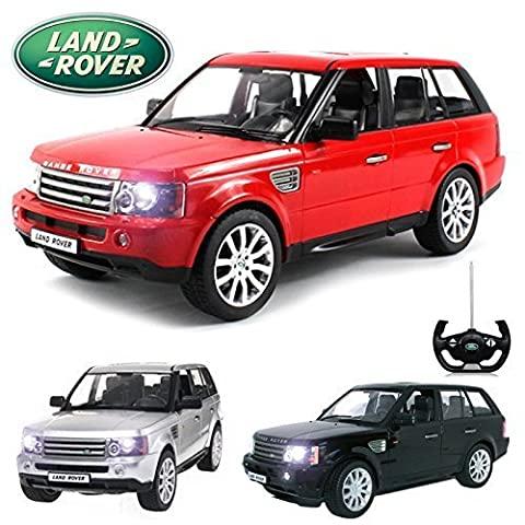 Comtechlogic® CM-2120 Official Licensed 1:14 Range Rover Sport Radio Controlled RC Electric Car Ready To Run EP RTR - RED