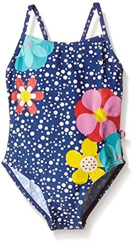 boboli Mädchen Einteiler SWIMSUIT POLKA DOT, Gr. 98 (Herstellergröße: 3), Mehrfarbig (PRINT 9072) (Mädchen Badeanzug Polka Dot)