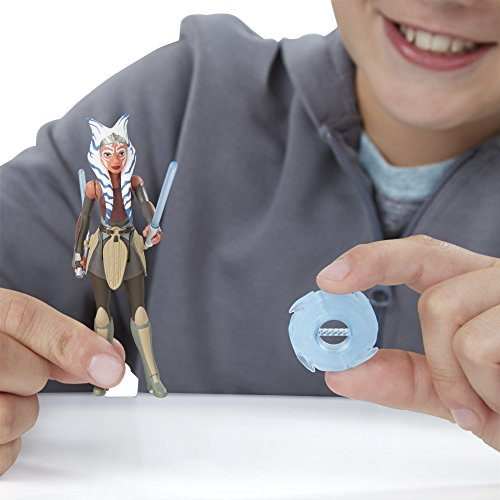 Star Wars Rebels 3.75-inch Space Mission Darth Vader And Ahsoka Tano Figure - 9